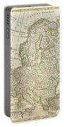 1762 Janvier Map Of Europe  Portable Battery Charger