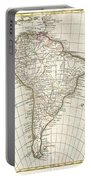 1762 Janvier Map Of South America  Portable Battery Charger