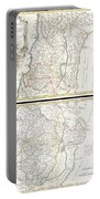 1763 De Lisle Map Of The Holy Land Portable Battery Charger