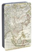 1770 Janvier Map Of Asia Portable Battery Charger