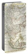 1770 Janvier Map Of Asia Portable Battery Charger by Paul Fearn