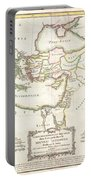 1771 Bonne Map Of The New Testament Lands Holy Land And Jerusalem Portable Battery Charger