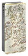 1771 Zannoni Map Of The British Isles  Portable Battery Charger