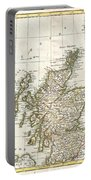 1772 Bonne Map Of Scotland  Portable Battery Charger