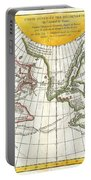 1772 Vaugondy And Diderot Map Of The Pacific Northwest And The Northwest Passage Portable Battery Charger by Paul Fearn