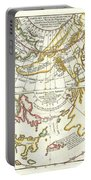 1772 Vaugondy Diderot Map Of Alaska The Pacific Northwest And The Northwest Passage Portable Battery Charger by Paul Fearn