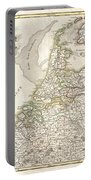 1775 Janvier Map Of Holland And Belgium Portable Battery Charger