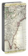 1776 Bonne Map Of Louisiana And The British Colonies In North America Portable Battery Charger