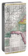 1780 Raynal And Bonne Map Of Louisiana Florida And Carolina Portable Battery Charger