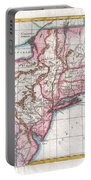 1780 Raynal And Bonne Map Of Northern United States Portable Battery Charger