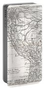 1780 Raynal And Bonne Map Of Peru Portable Battery Charger