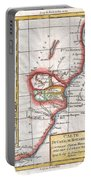 1780 Raynal And Bonne Map Of South Africa Zimbabwe Madagascar And Mozambique Portable Battery Charger