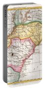 1780 Raynal And Bonne Map Of Southern United States Portable Battery Charger