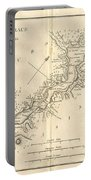 1784 Bocage Map Of The Bosphorus And The City Of Byzantium  Istanbul  Constantinople Portable Battery Charger