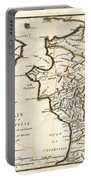 1786 Bocage Map Of Elis And Triphylia In Ancient Greece  Portable Battery Charger