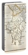 1786 Bocage Map Of Messenia In Ancient Greece Portable Battery Charger