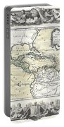 1788 Brion De La Tour Map Of Mexico Central America And The West Indies Portable Battery Charger