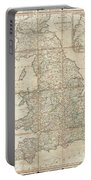 1790 Faden Map Of The Roads Of Great Britain Or England Portable Battery Charger