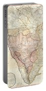 1793 Faden Wall Map Of India Portable Battery Charger