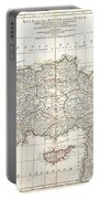 1794 Anville Map Of Asia Minor In Antiquity Portable Battery Charger