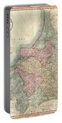 1799 Cary Map Of Prussia And Lithuania  Portable Battery Charger