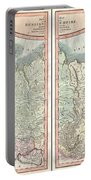 1799 Cary Map Of The Russian Empire Portable Battery Charger