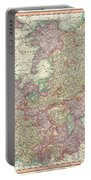1799 Cary Map Of The Upper And Lower Rhine Portable Battery Charger