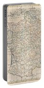 1799 Clement Cruttwell Map Of France In Provinces Portable Battery Charger