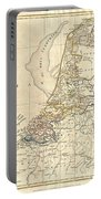 1799 Clement Cruttwell Map Of Holland Or The Netherlands Portable Battery Charger