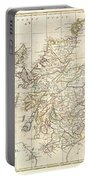 1799 Clement Cruttwell Map Of Scotland Portable Battery Charger