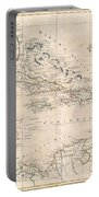 1799 Clement Cruttwell Map Of West Indies Portable Battery Charger