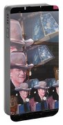21 Duke's John Wayne Cardboard Cutout Collage Tombstone  Arizona 2004-2009 Portable Battery Charger