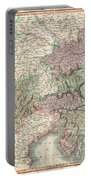 1801 Cary Map Of Austria Portable Battery Charger