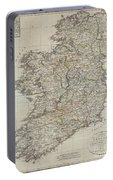 1804 Jeffreys And Kitchin Map Of Ireland Portable Battery Charger