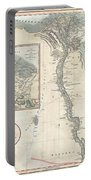 1805 Cary Map Of Egypt Portable Battery Charger