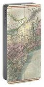 1806 Cary Map Of New England New York Pennsylvania New Jersey And Virginia Portable Battery Charger