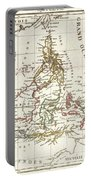 1810 Tardieu Map Of The East Indies Singapore Southeast Asia Sumatra Borneo Java Portable Battery Charger