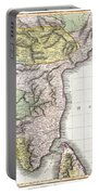 1814 Thomson Map Of India Portable Battery Charger