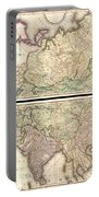 1820 Lizars Wall Map Of Asia Portable Battery Charger