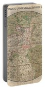1820 Mogg Pocket Or Case Map Of London Portable Battery Charger