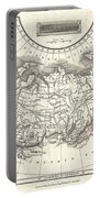 1826 Assheton Map Of Russia In Asia Portable Battery Charger