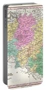 1827 Finley Map Of Belgium And Luxembourg Portable Battery Charger