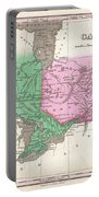 1827 Finley Map Of Canada  Portable Battery Charger