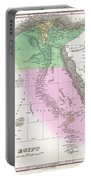 1827 Finley Map Of Egypt Portable Battery Charger