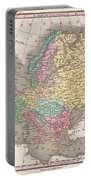 1827 Finley Map Of Europe Portable Battery Charger