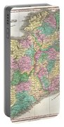 1827 Finley Map Of Ireland  Portable Battery Charger