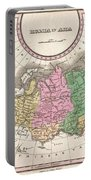1827 Finley Map Of Russia In Asia Portable Battery Charger