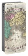 1827 Finley Map Of The Eastern Hemisphere  Portable Battery Charger