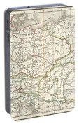 1832 Delamarche Map Of Germany In Roman Times Portable Battery Charger