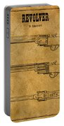 1837 Leavitt Revolver Patent Art 1 Portable Battery Charger